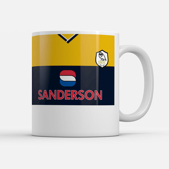 Official Sheffield Wednesday '99 Away Mug