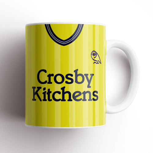Official Sheffield Wednesday '84 Away Mug