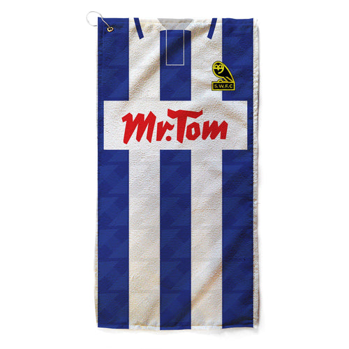 Sheffield Wednesday 92 Home Golf Towel