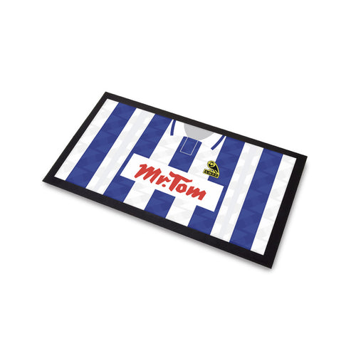 Sheffield Wednesday 1992 Home Bar Runner