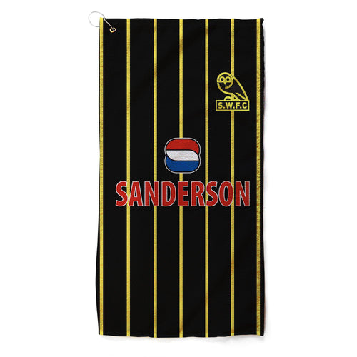 Sheffield Wednesday 94 Away Golf Towel