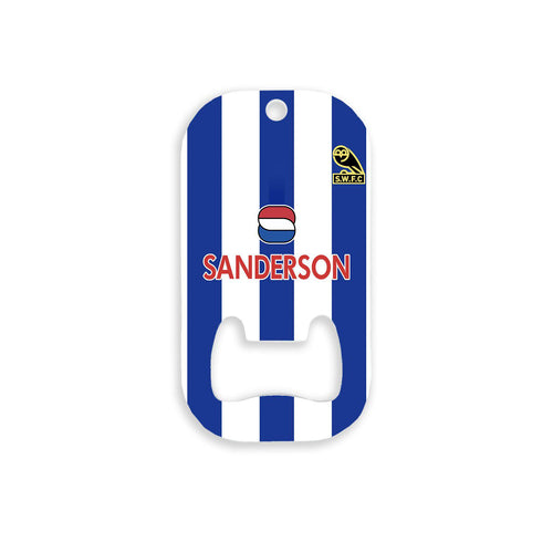 Sheffield Wednesday 1994 Home Bottle Opener