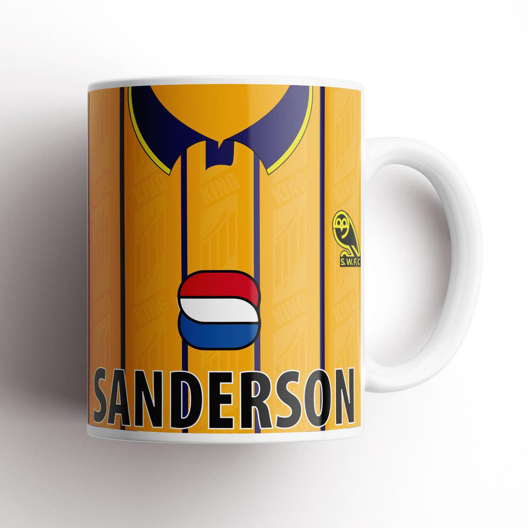 Official Sheffield Wednesday '95 Third Mug