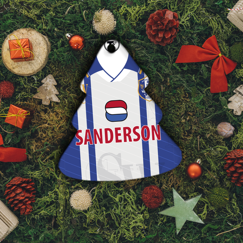 Sheffield Wednesday 1997 Christmas Decoration