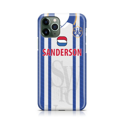 sheffield wednesay retro phone case
