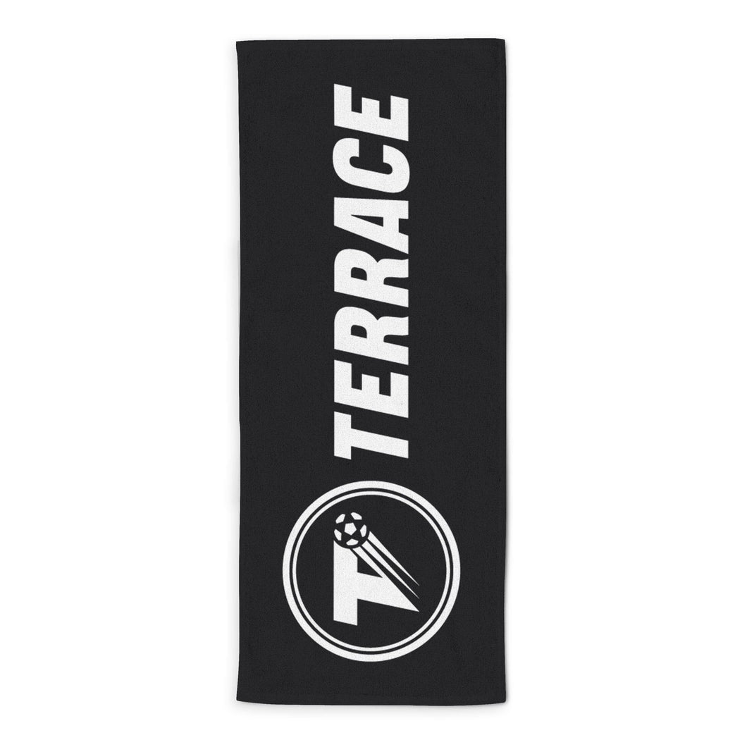 The Terrace Logo Beach Towel-Towels-The Terrace Store