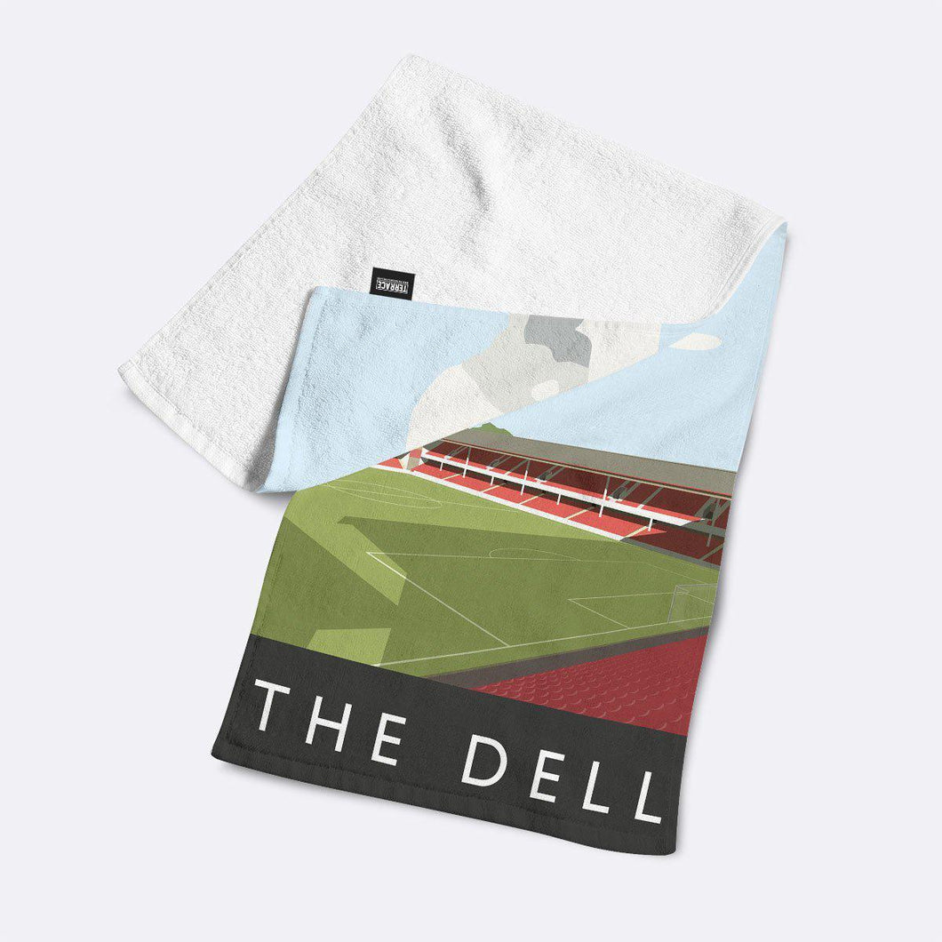 The Dell Illustrated Towel-Towels-The Terrace Store