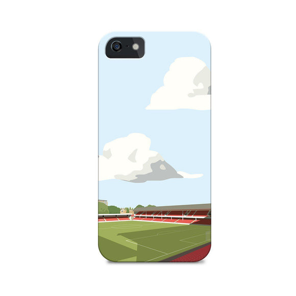 southampton football gift illustrated phone case
