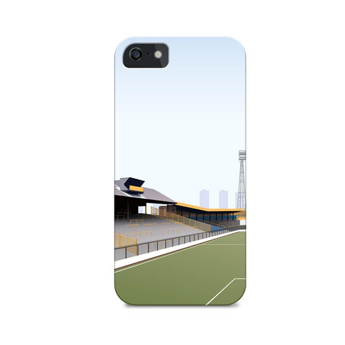 The Den Illustrated Phone Case