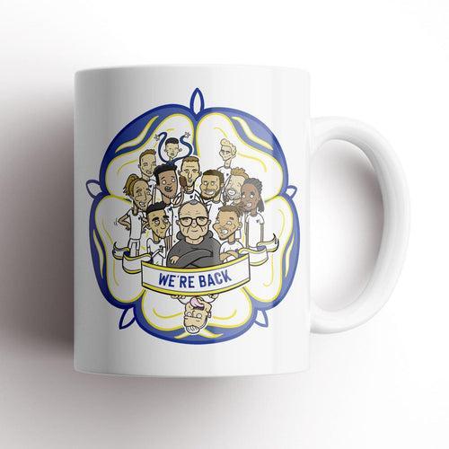 Tom Sparke Leeds 'We're Back' Mug
