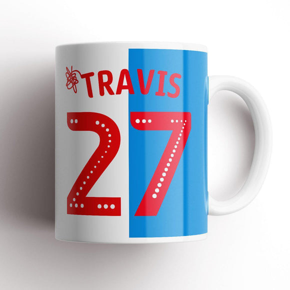 Travis Inspired Blackburn Mug