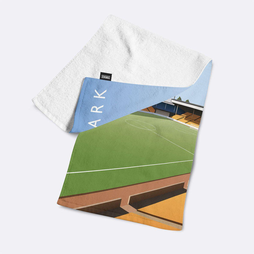Vale Park Illustrated Towel-Towels-The Terrace Store