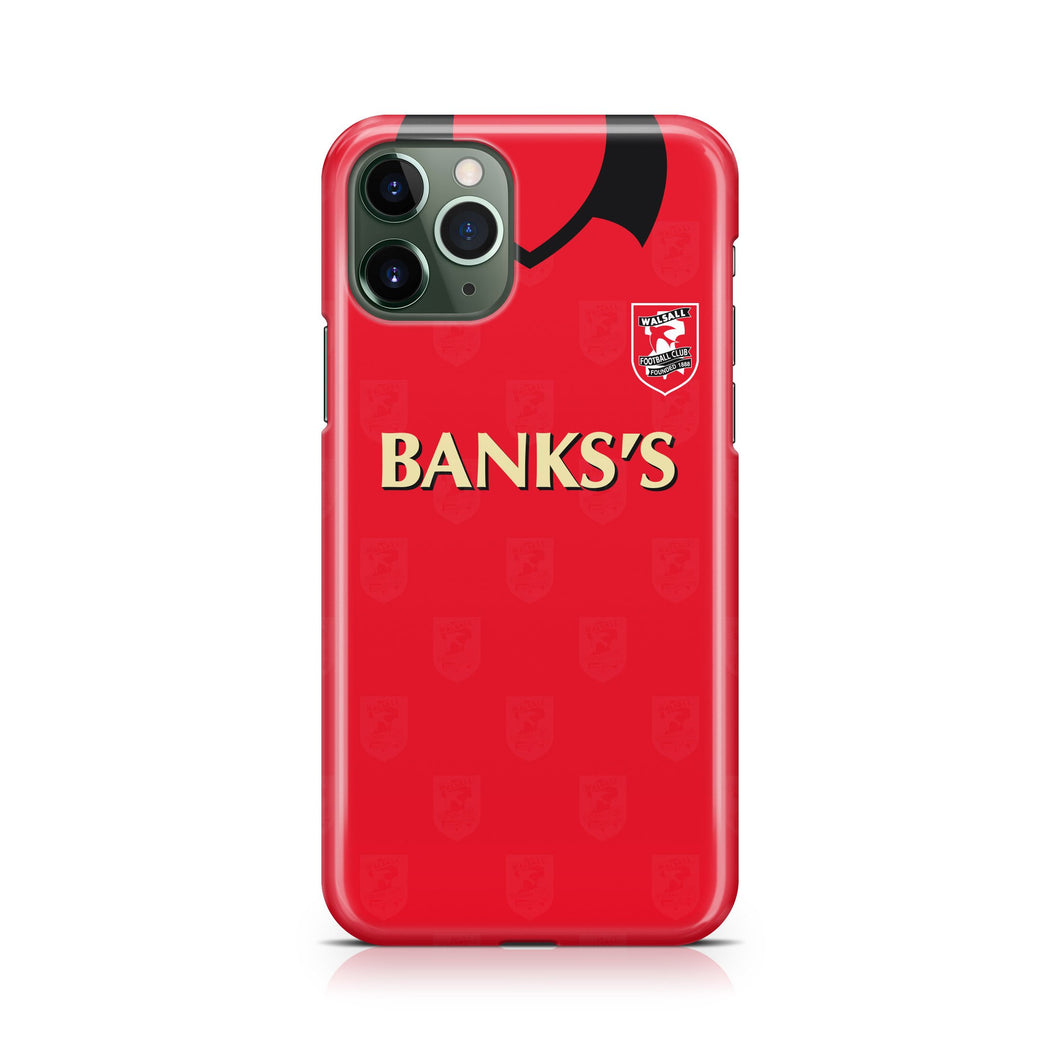 Official Walsall kit phone cases