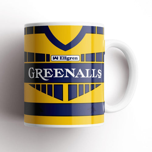 Warrington 1993 Retro Kit Mug-Rugby Mugs-The Terrace Store
