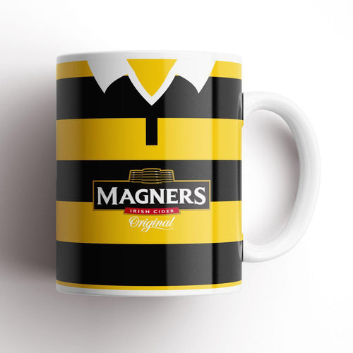 Wasps 2005 Retro Kit Mug-Rugby Mugs-The Terrace Store