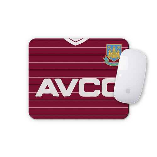 West Ham United 1986 Home Mouse Mat-Mouse mat-The Terrace Store