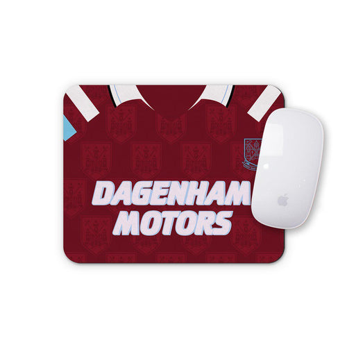 West Ham United 1993 Home Mouse Mat-Mouse mat-The Terrace Store
