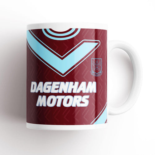 West Ham United 1994 Home Kit Mug