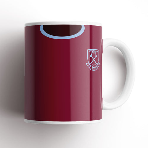 West Ham United 20-21 Home Kit Mug