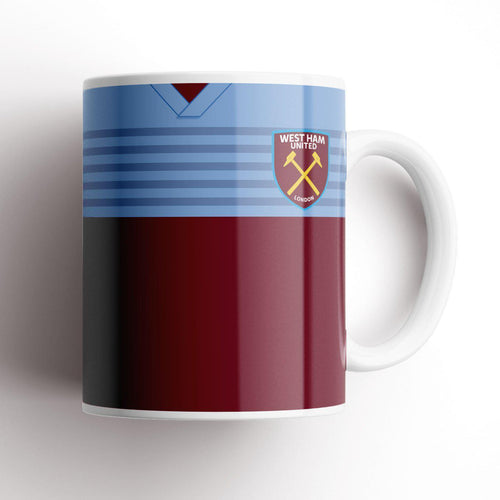 West Ham United 2019-20 Kit Mug-Mugs-The Terrace Store