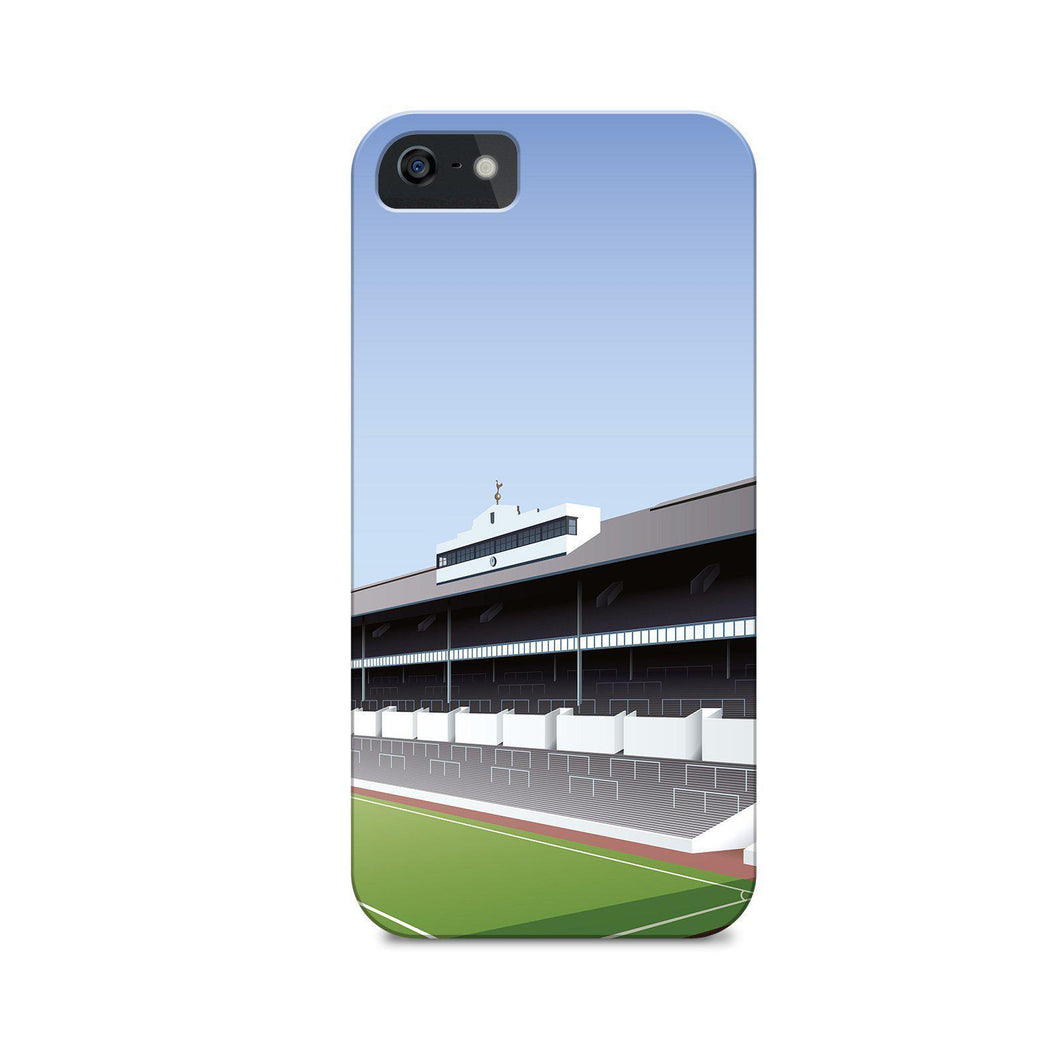 White Hart Lane Illustrated Phone Case-CASES-The Terrace Store