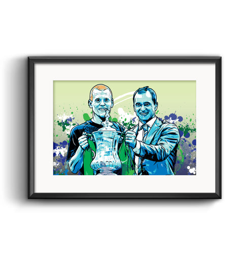 Wigan Athletic FA Cup Winners Print