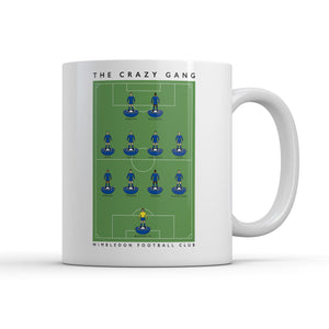 Wimbledon Crazy Gang Mug-Legends Mug-The Terrace Store
