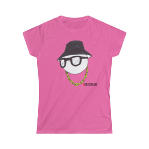 Hip Hop Head - Women's Softstyle Tee