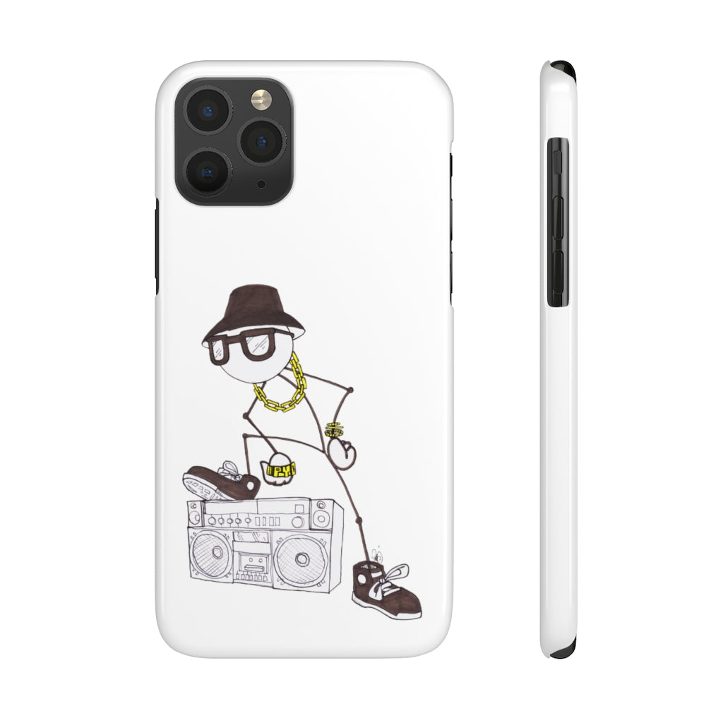 Slim iPhone Boombox Phone Cases