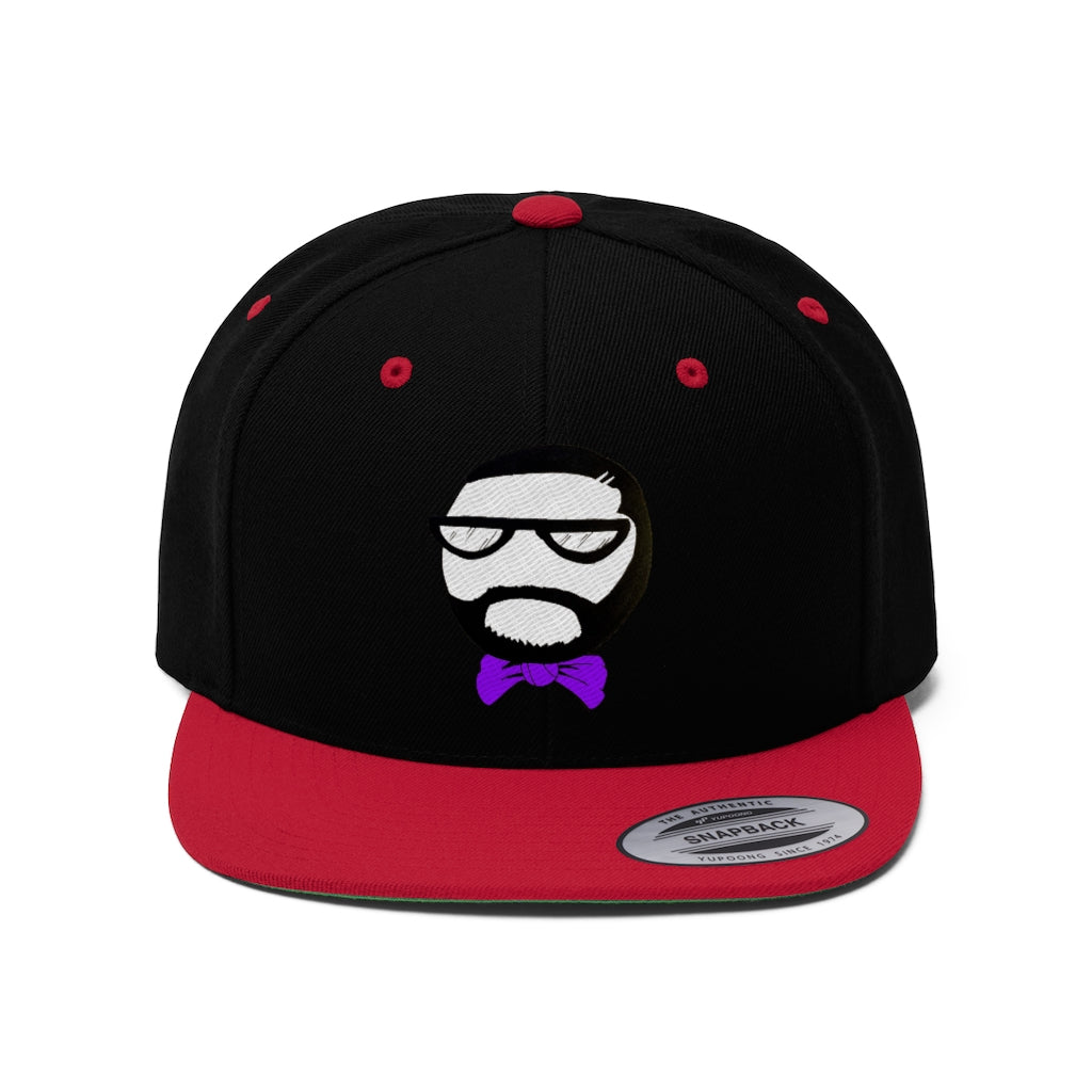 Flat Bill R&B Head Snapback