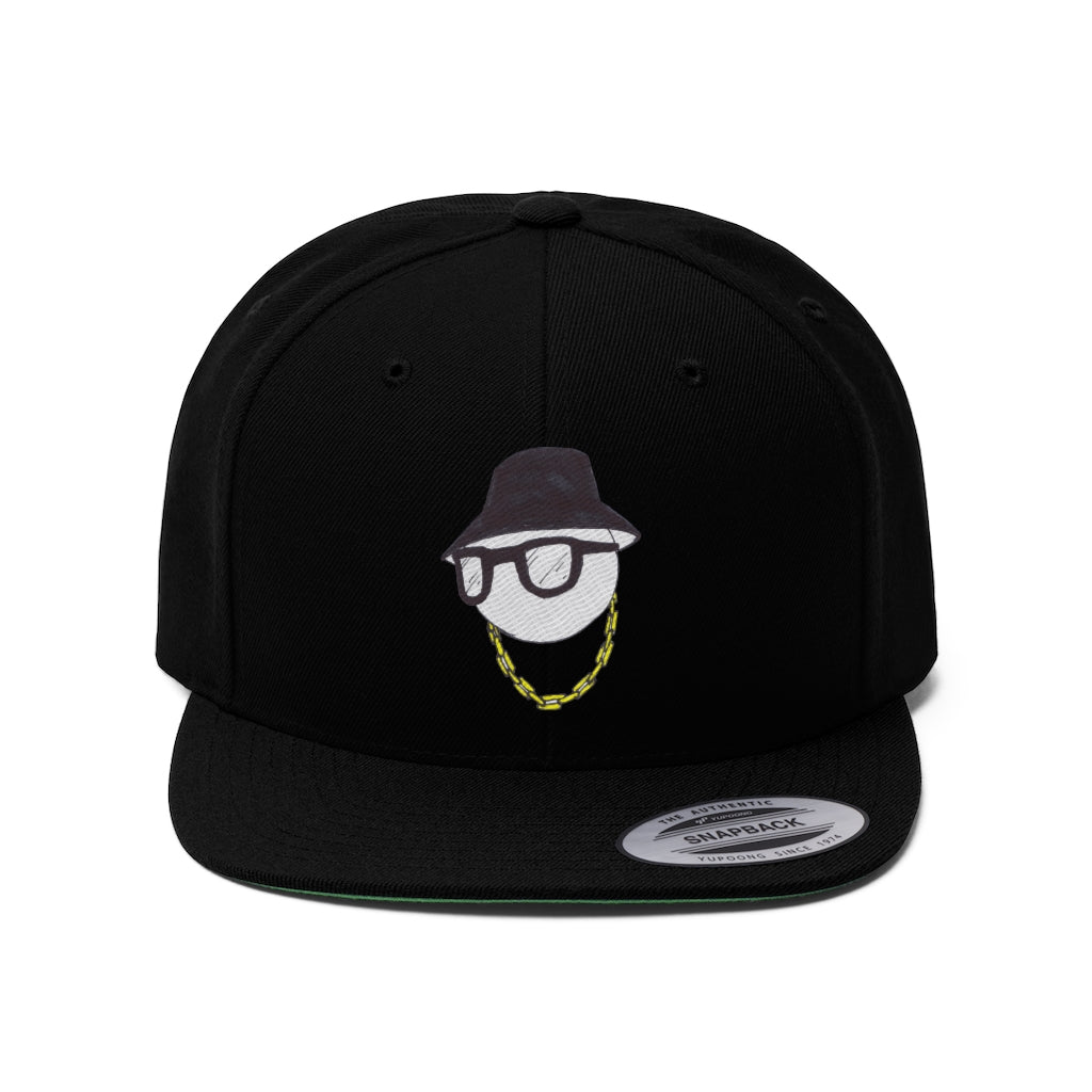 Flat Bill Hip Hop Head Snapback