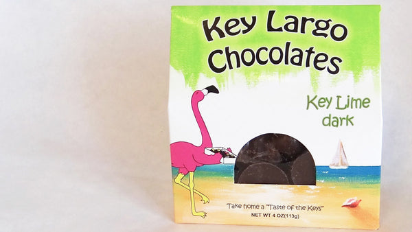 Key Lime Dark Shell Chocolates - 3 boxes/order