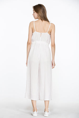 Emma Petite Striped Jumpsuit