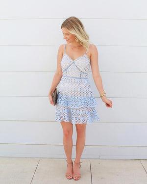 The Chole Petite Lace Dress