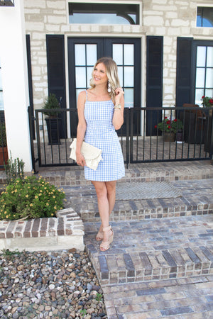 Charlotte Petite Gingham Dress