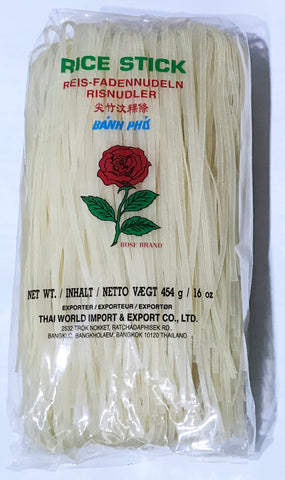 Thai Rice Vermicelli 3mm 454g