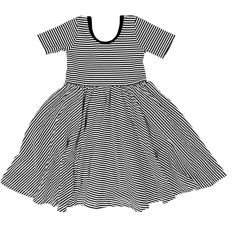 PREORDER Organic Dress Stripes