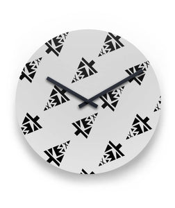 Tücy-Time Clock Round Wall Clock
