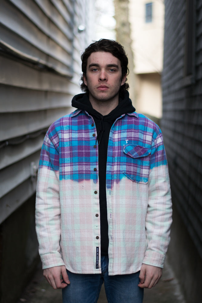 Purple Dip Flannel