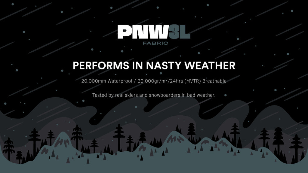 Performs in Nasty Weather