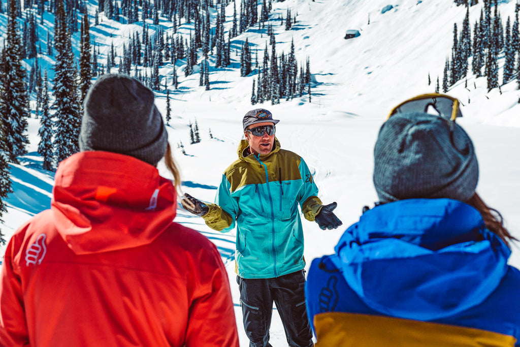Hire a guide for backcountry skiing