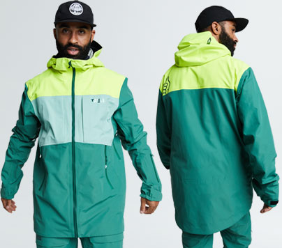 New Colors of the greatest snow jacket ever.