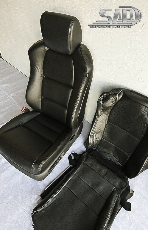 For 04 Acura TL Driver Side LT Seat Replacements Covers Perforated PU Leather