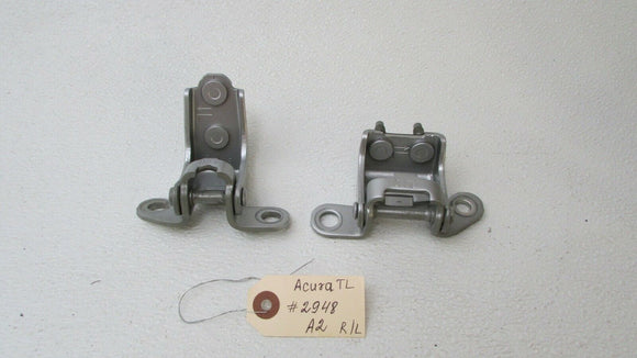 04 05 06 07 08 ACURA TL Driver Side Rear Left Top & Bottom Hinge Door OEM
