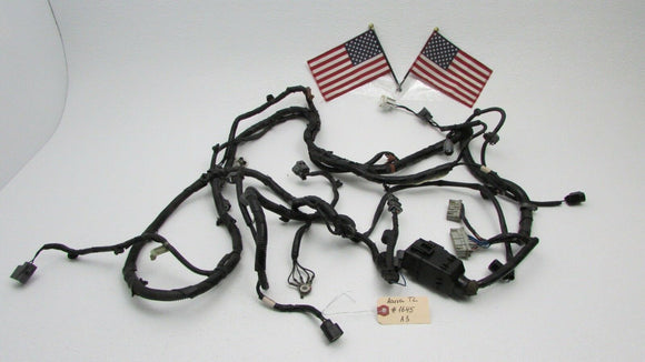 04 05 06 Acura TL Under Hood Headlight Wiring Harness Plugs Engine Bay Wires OEM