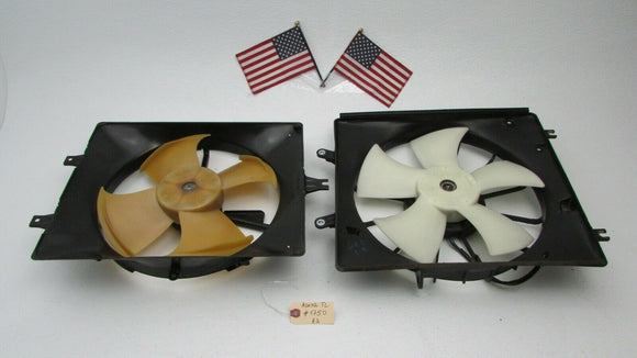 04 05 06 07 08 Acura TL AC CONDENSER RADIATOR COOLING FANS MOTOR ASSEMBLY OEM