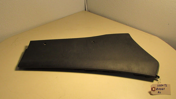 04 05 06 07 08 Acura TL CENTER CONSOLE RIGHT BASE SIDE COVER TRIM BLACK OEM