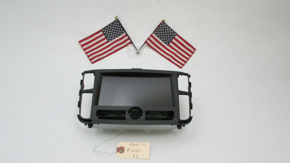 2004 2005 2006 Acura TL RADIO NAVIGATION GPS LCD INFORMATION DISPLAY SCREEN OEM