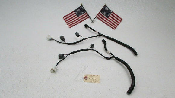 04 - 08 Acura TL Front Left Right Headlight Wire Harness Plugs Connectors OEM