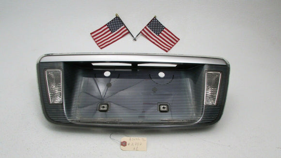 04 05 06-08 ACURA TL Rear Trunk Lid License Plate Tag Garnish Backup Lights OEM